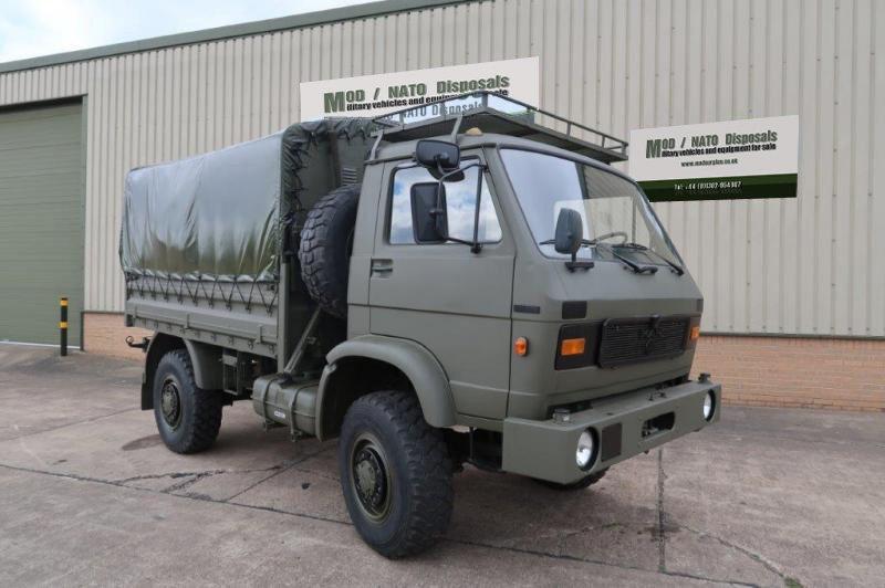 military vehicles for sale - MAN 8.136 Shoot Vehicle