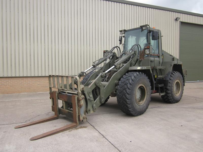 military vehicles for sale - Case 721 CXT Forklift