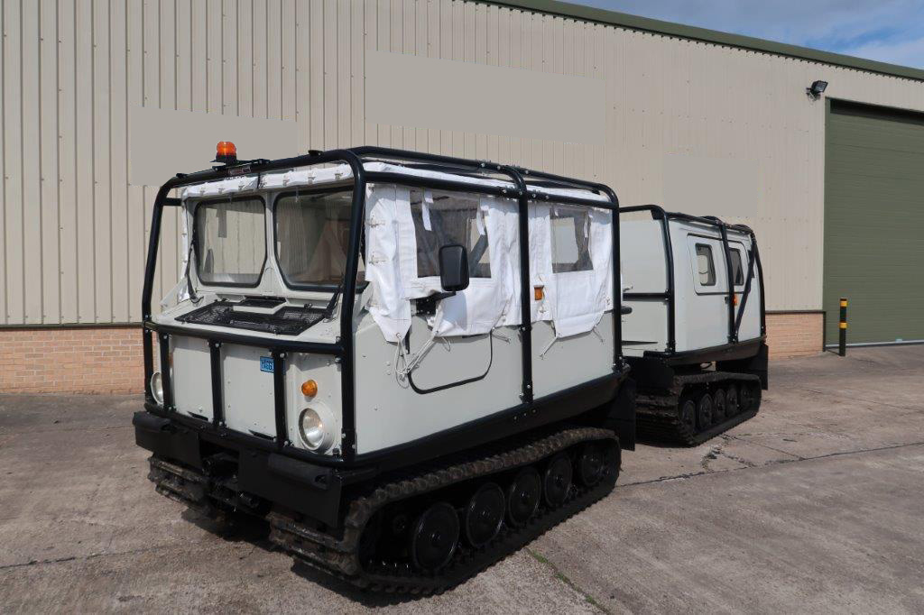 military vehicles for sale - Hagglund BV 206 Soft Top Personnel Carrier With Roll Cage
