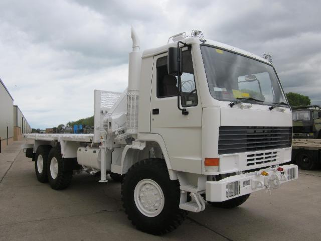 MoD Surplus, ex army military vehicles for sale - Volvo FL12 6x6 cargo truck