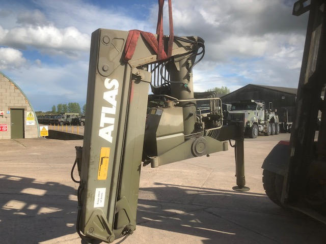 military vehicles for sale - Atlas AK3006 crane