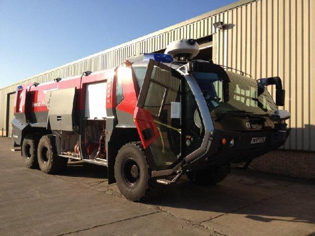 Rosenbauer Panther ARFF 6x6 Fire Appliance - ex military vehicles for sale, mod surplus