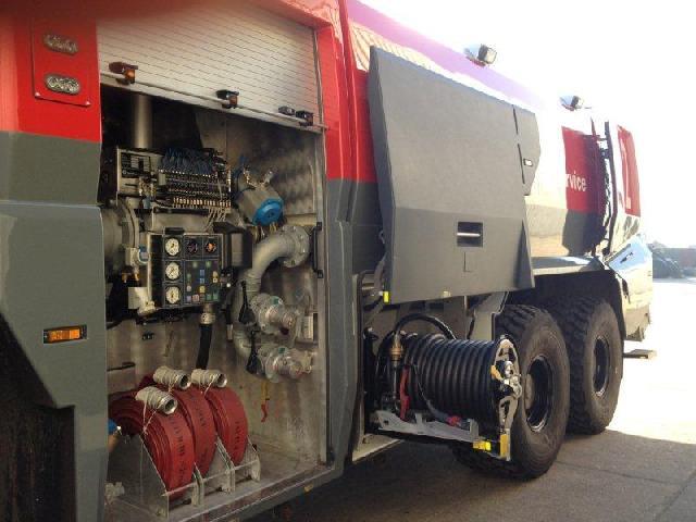 Rosenbauer Panther ARFF 6x6 Fire Appliance