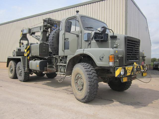 Volvo N10 6x6 recovery - ex military vehicles for sale, mod surplus