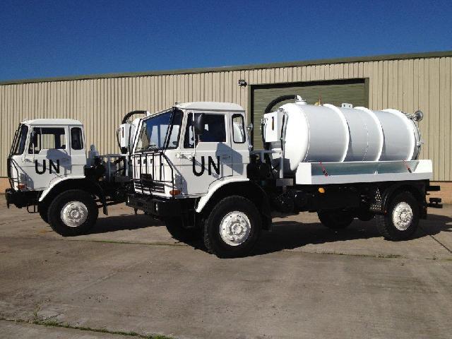 DAF YA4440 4x4 Vacuum Tankers - ex military vehicles for sale, mod surplus