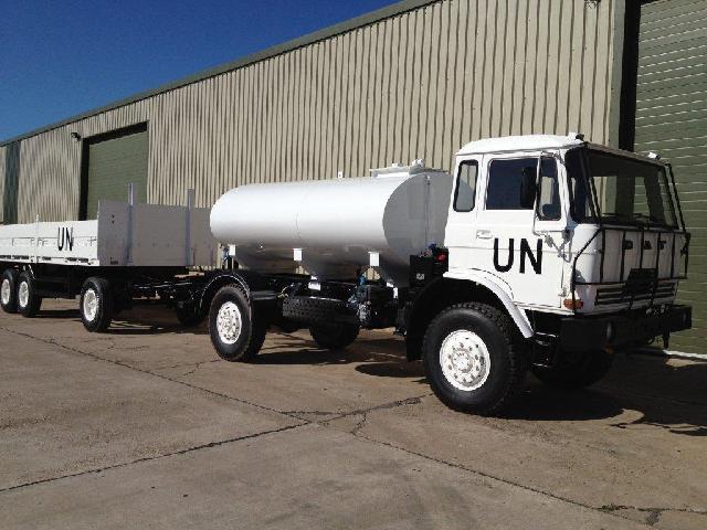 DAF YA4440 4x4 Tanker Truck - ex military vehicles for sale, mod surplus