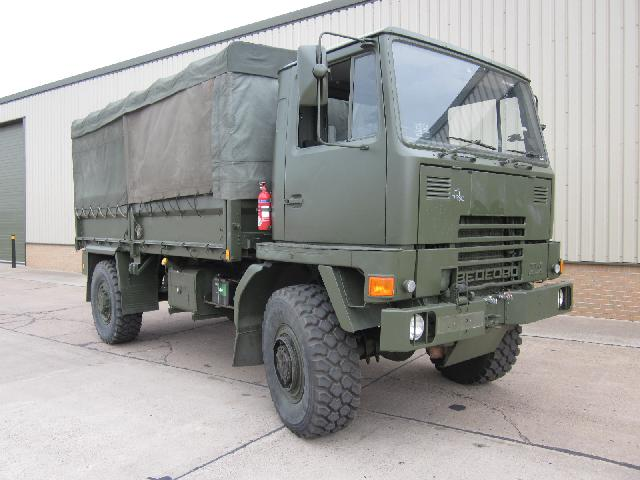 Bedford TM 4x4 winch truck - ex military vehicles for sale, mod surplus