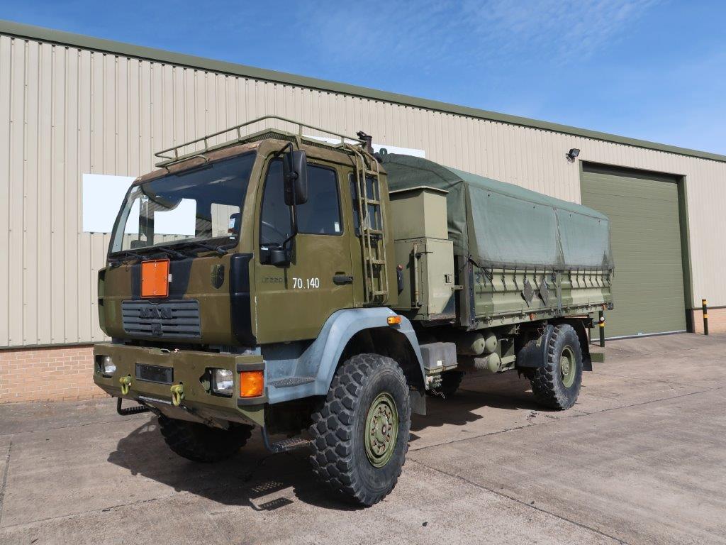 MAN 18.225 4x4 Cargo Truck  - ex military vehicles for sale, mod surplus