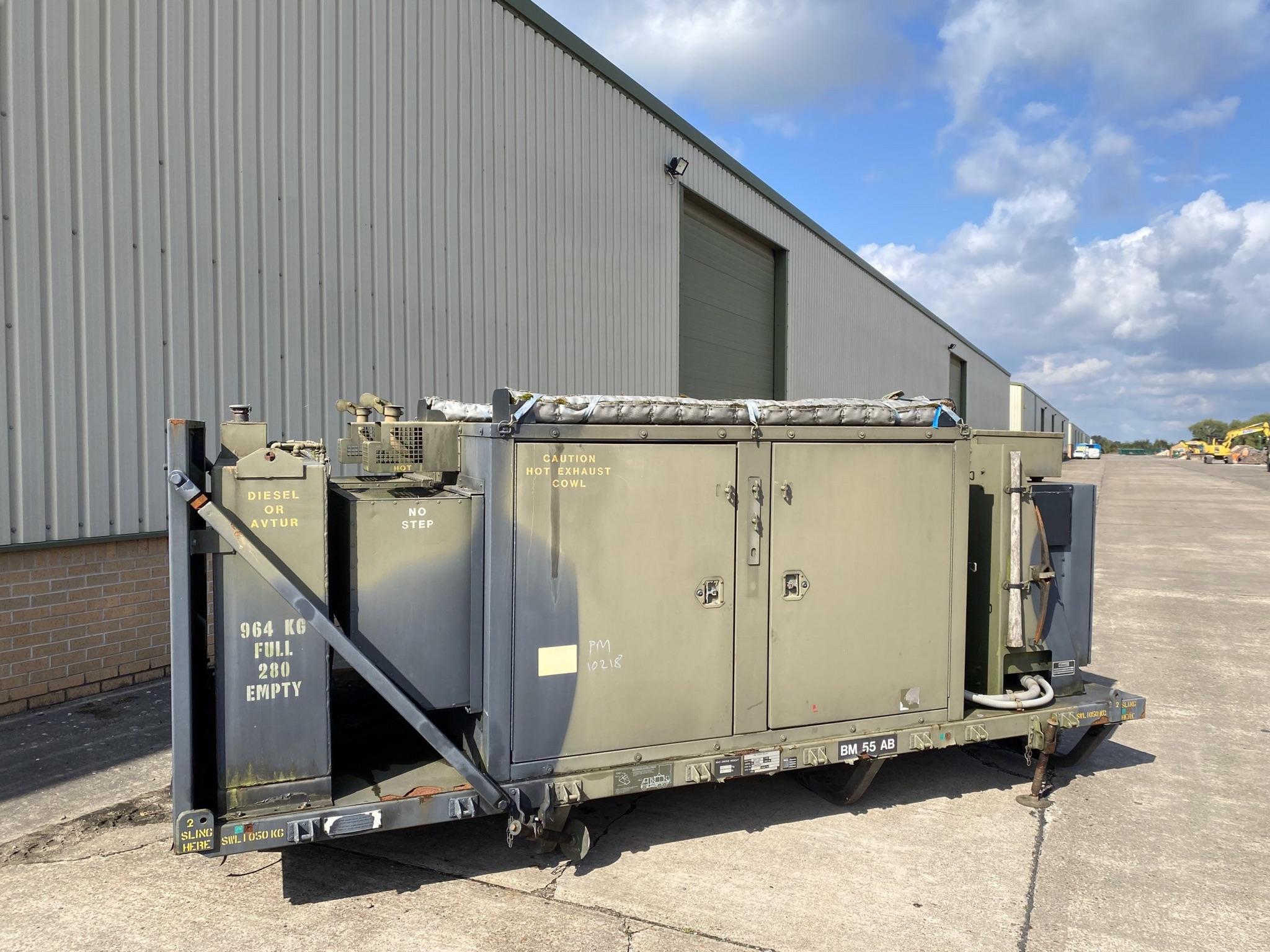 military vehicles for sale - 100 KVA Generator Unit