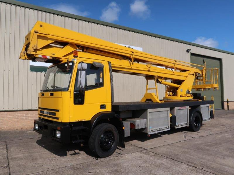 MoD Surplus, ex army military vehicles for sale - Iveco Eurocargo Access Platform (Cherry Picker)