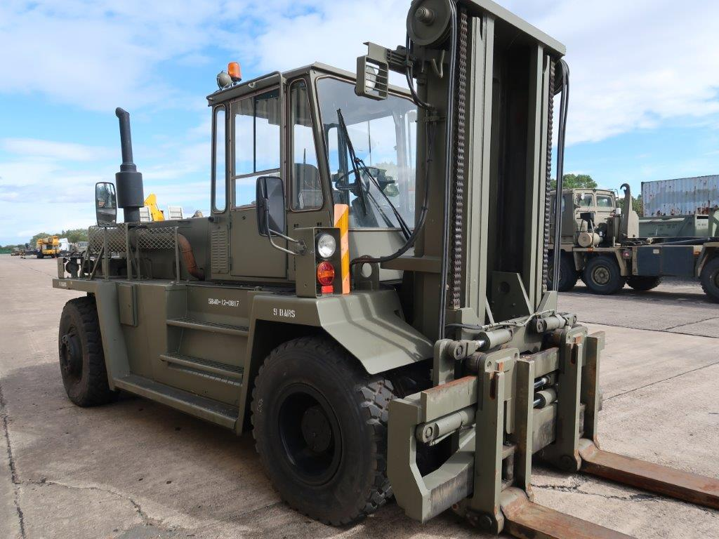 MoD Surplus, ex army military vehicles for sale - Valmet 1612HS 4x4 16 Ton Forklift