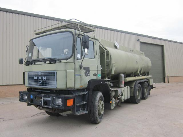 MoD Surplus, ex army military vehicles for sale - Man 25.322 tanker truck