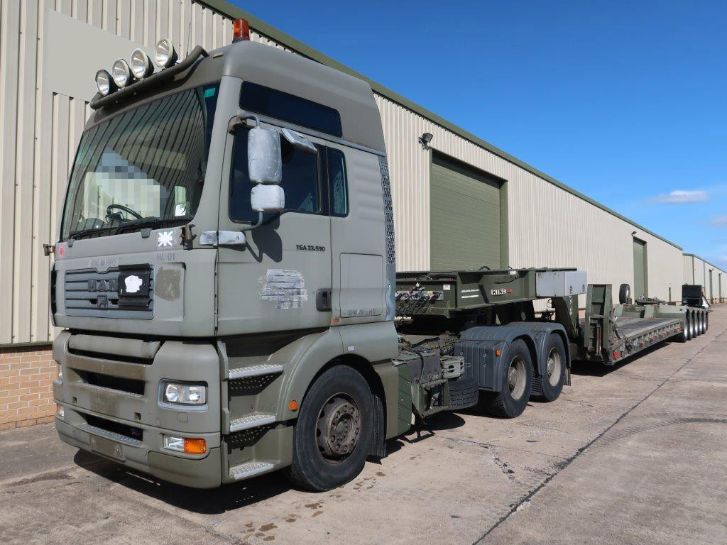 MoD Surplus, ex army military vehicles for sale - MAN TGA 33.530 6x4 Tractor Unit