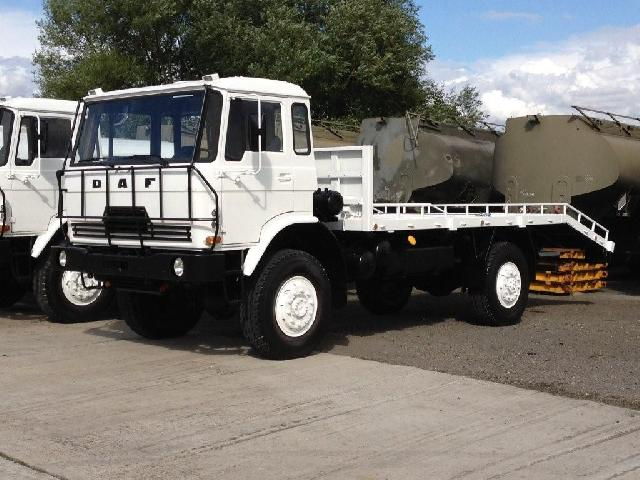 DAF YA4440 4x4 Beaver Tail Recovery Truck with winch - ex military vehicles for sale, mod surplus