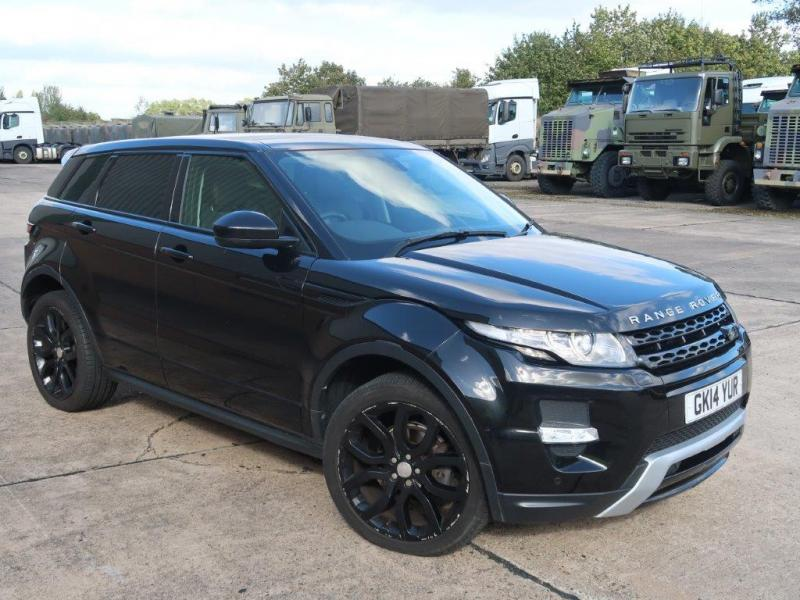 Land Rover Range Rover Evoque 2.2 SD4 Dynamic  - ex military vehicles for sale, mod surplus