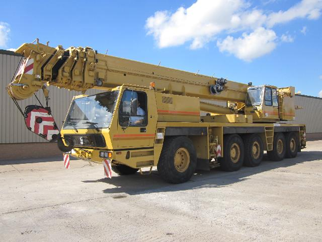 MoD Surplus, ex army military vehicles for sale - Grove GMK5130 130 ton crane