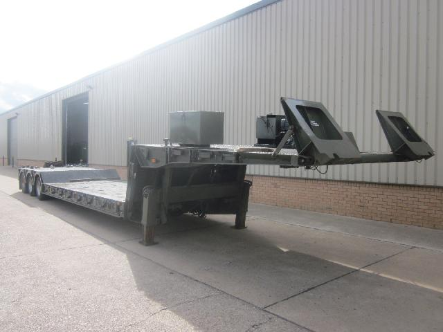 King GTLE 44 low loader - ex military vehicles for sale, mod surplus
