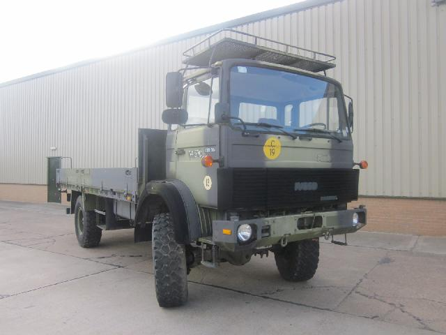 MoD Surplus, ex army military vehicles for sale - Iveco 110-16 4x4 winch truck