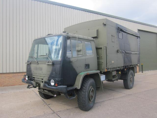 military vehicles for sale - Leyland Daf workshop truck
