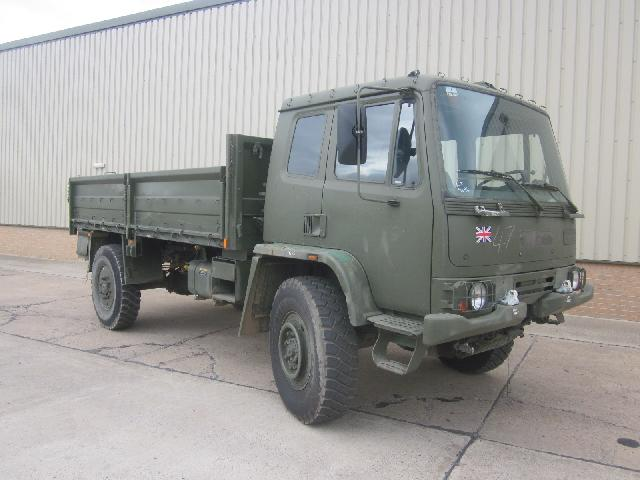 military vehicles for sale - Leyland Daf 4x4 winch truck