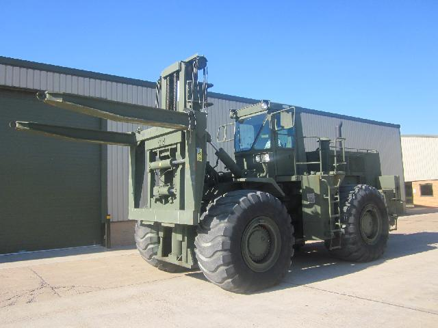 Caterpillar Forklift 988 RTCH container handler - ex military vehicles for sale, mod surplus