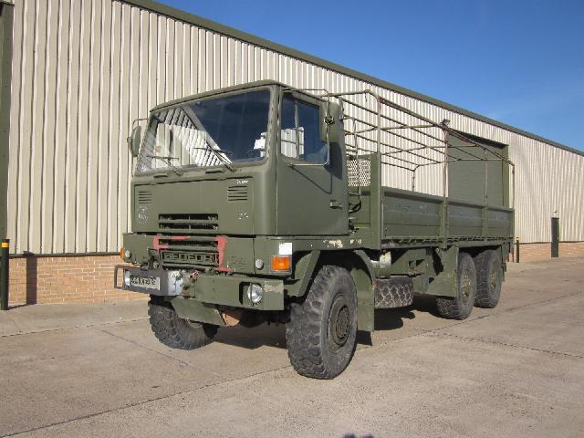 Bedford TM 6x6 winch truck - ex military vehicles for sale, mod surplus