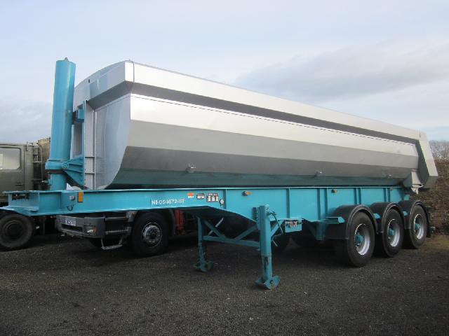 Chieftain tipper trailer - ex military vehicles for sale, mod surplus