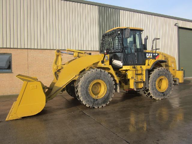 Caterpillar Wheeled Loader 950 H - ex military vehicles for sale, mod surplus
