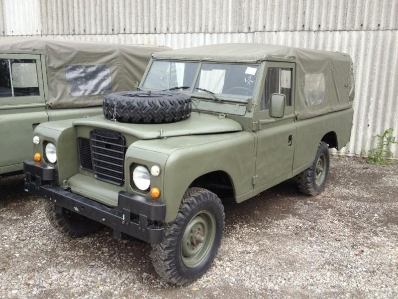 Land Rover Series 3 109 (Petrol) - ex military vehicles for sale, mod surplus