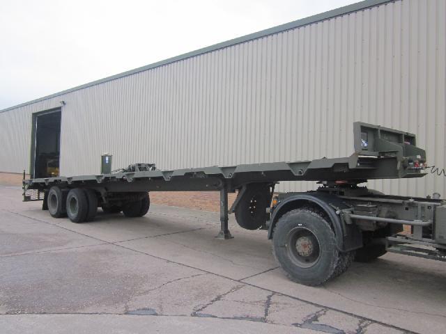 Oldbury sliding recovery trailer - ex military vehicles for sale, mod surplus