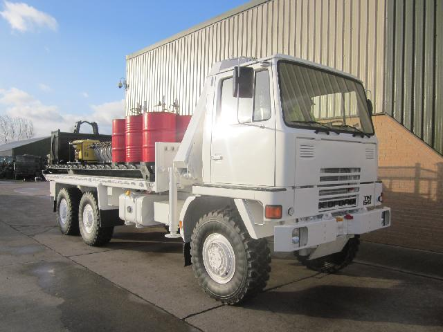 MoD Surplus, ex army military vehicles for sale - Bedford TM 6x6 service truck with de mountable body