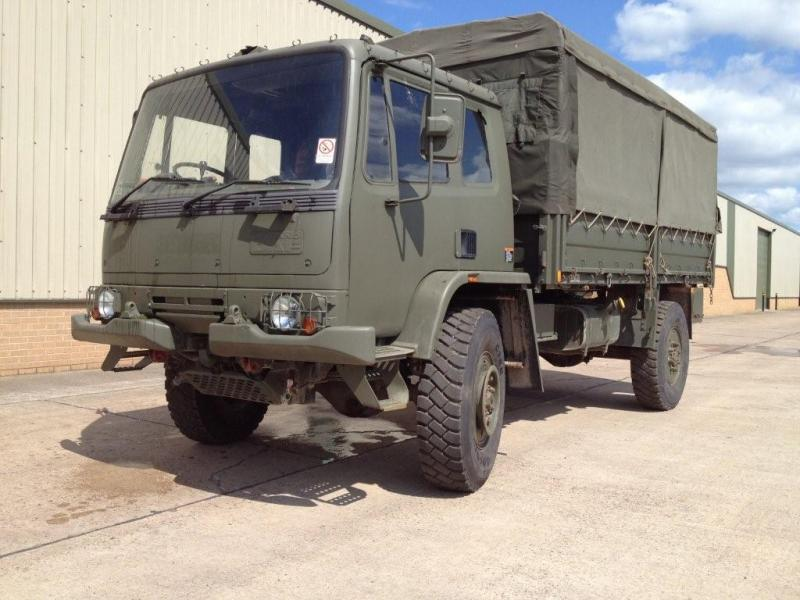 MoD Surplus, ex army military vehicles for sale - Leyland Daf T45 4x4 Personnel Carrier / shoot vehicle with Canopy & Seats