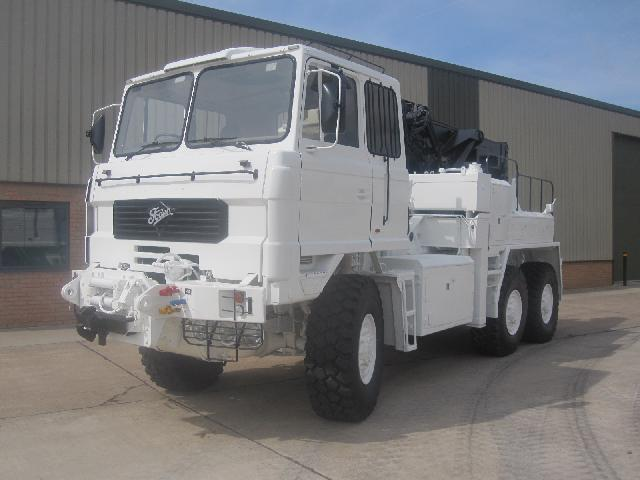 MoD Surplus, ex army military vehicles for sale - Foden 6x6 recovery