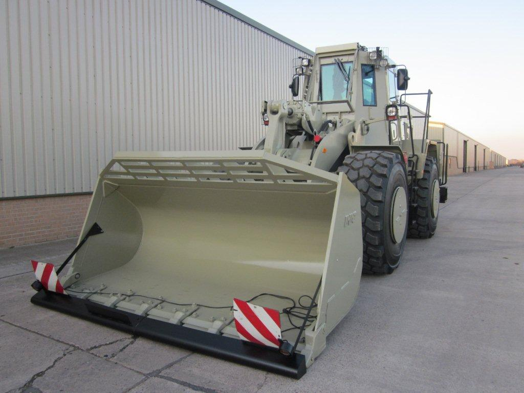 MoD Surplus, ex army military vehicles for sale - Caterpillar Wheeled Loader 972G Armoured Plant