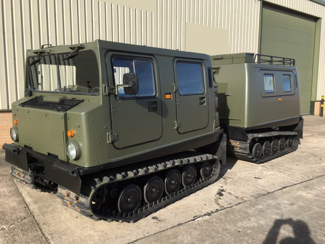 military vehicles for sale - Hagglund Bv206 Personnel Carrier