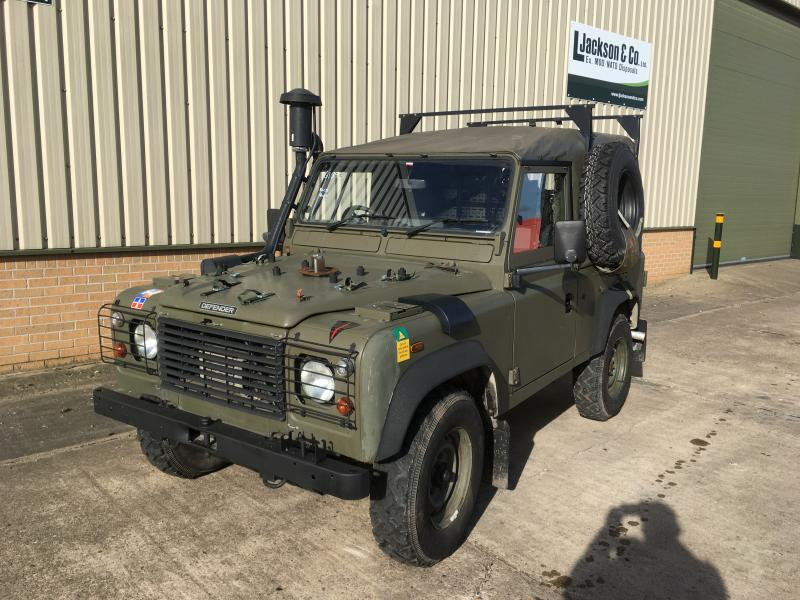 Land Rover Defender 90 RHD Wolf Winterized Soft Top (Remus) - ex military vehicles for sale, mod surplus