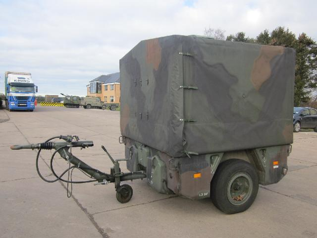 military vehicles for sale - Karcher TFK 250 kitchen trailer