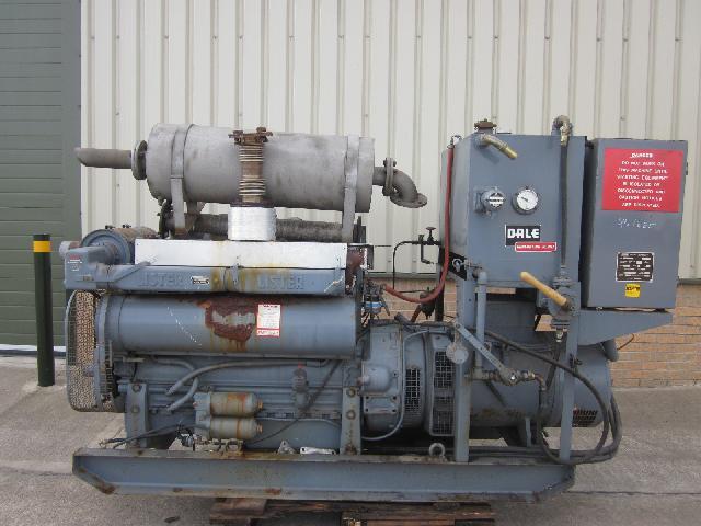 Dale 88 kva Generator set - ex military vehicles for sale, mod surplus