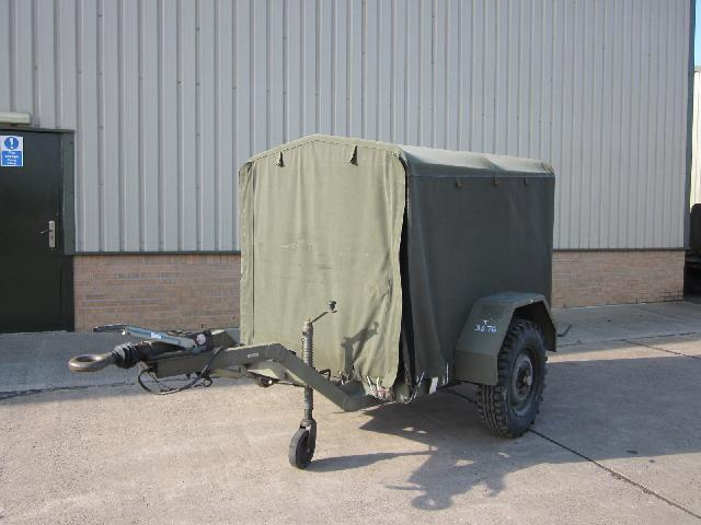 military vehicles for sale - Sankey lubrication trailer
