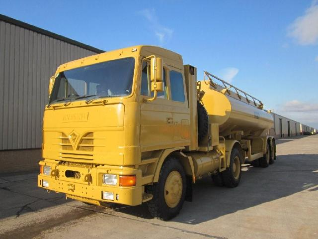 military vehicles for sale - Foden MWAD 8x6 Dust Suppression Tanker Truck