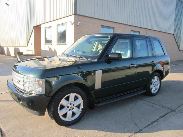 MoD Surplus, ex army military vehicles for sale - Armoured (BULLET PROOF - B6) Range rover vogue