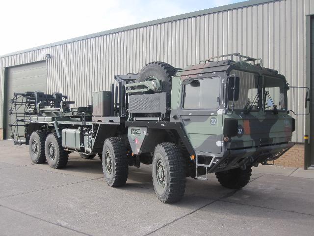 Man KAT A1 8x8 matt dispenser / Chassis Cab 2.5m Wide - ex military vehicles for sale, mod surplus