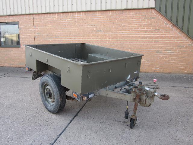 Sankey 1,000kg Single axle trailer - ex military vehicles for sale, mod surplus