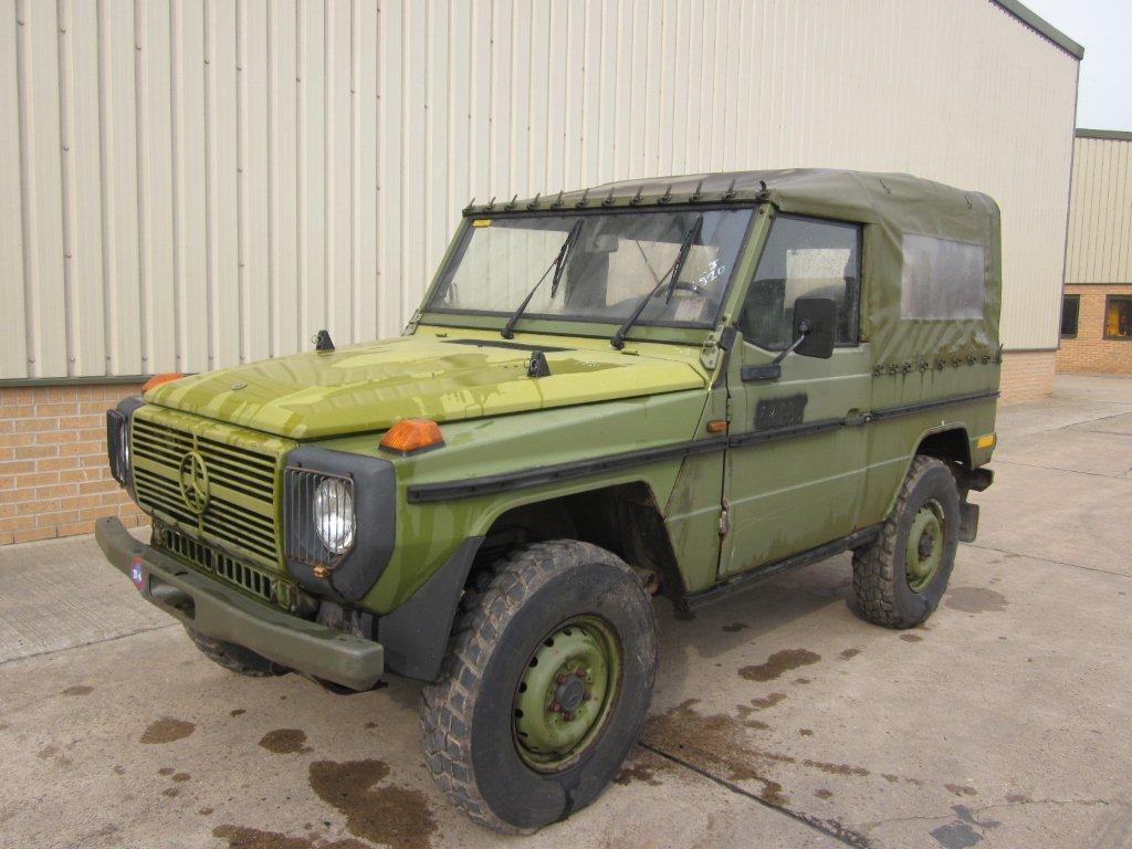 Mercedes Benz 240 G Wagon - SWB  - ex military vehicles for sale, mod surplus