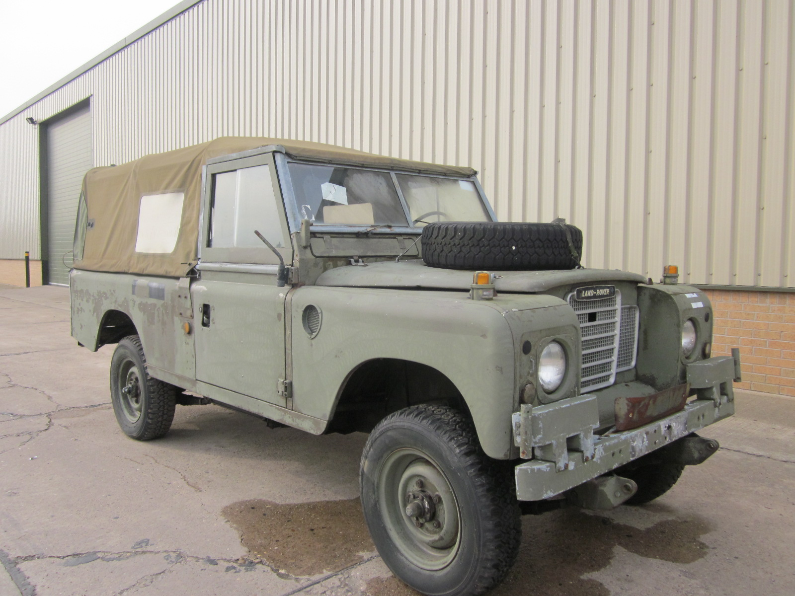 Land Rover Series 3 109 (Diesel) - ex military vehicles for sale, mod surplus