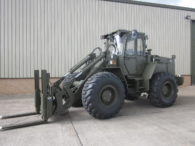 Volvo BM 4400 Wheeled Loader - ex military vehicles for sale, mod surplus