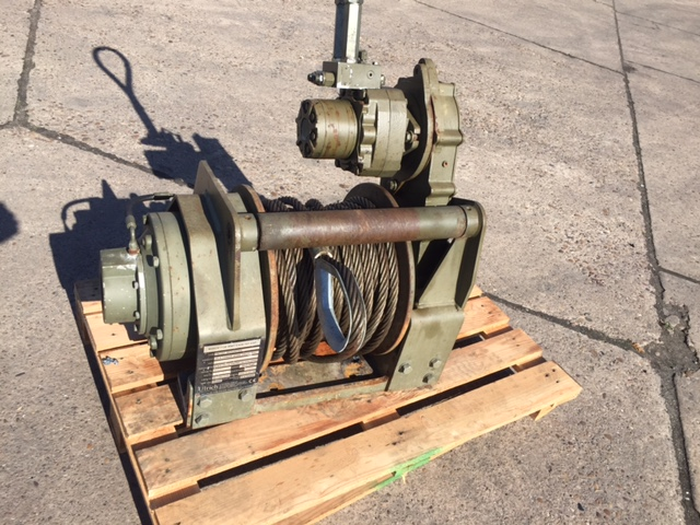 MoD Surplus, ex army military vehicles for sale - Ulrich MWT Hydraulic Winch