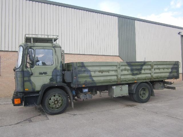 MAN 13.192 4x2 LHD drop side cargo truck