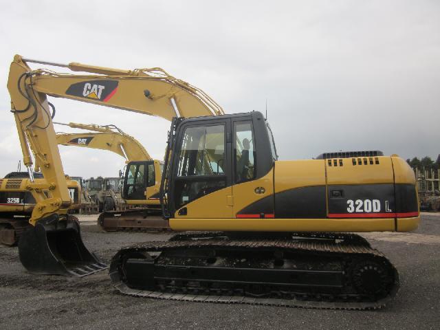 Caterpillar Tracked Excavator 320 DL