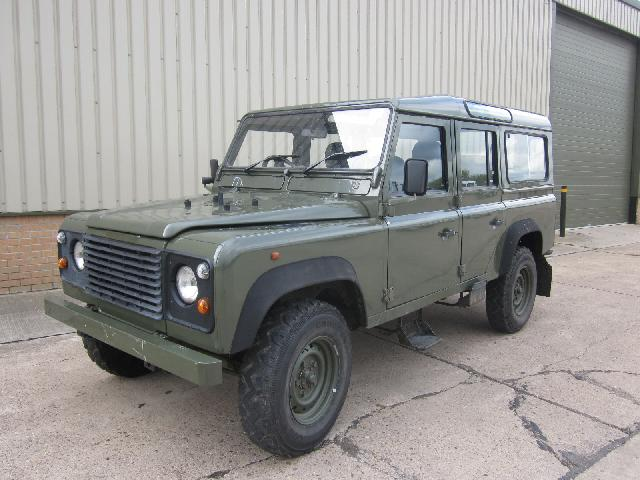 Land rover 110 300 tdi - ex military vehicles for sale, mod surplus
